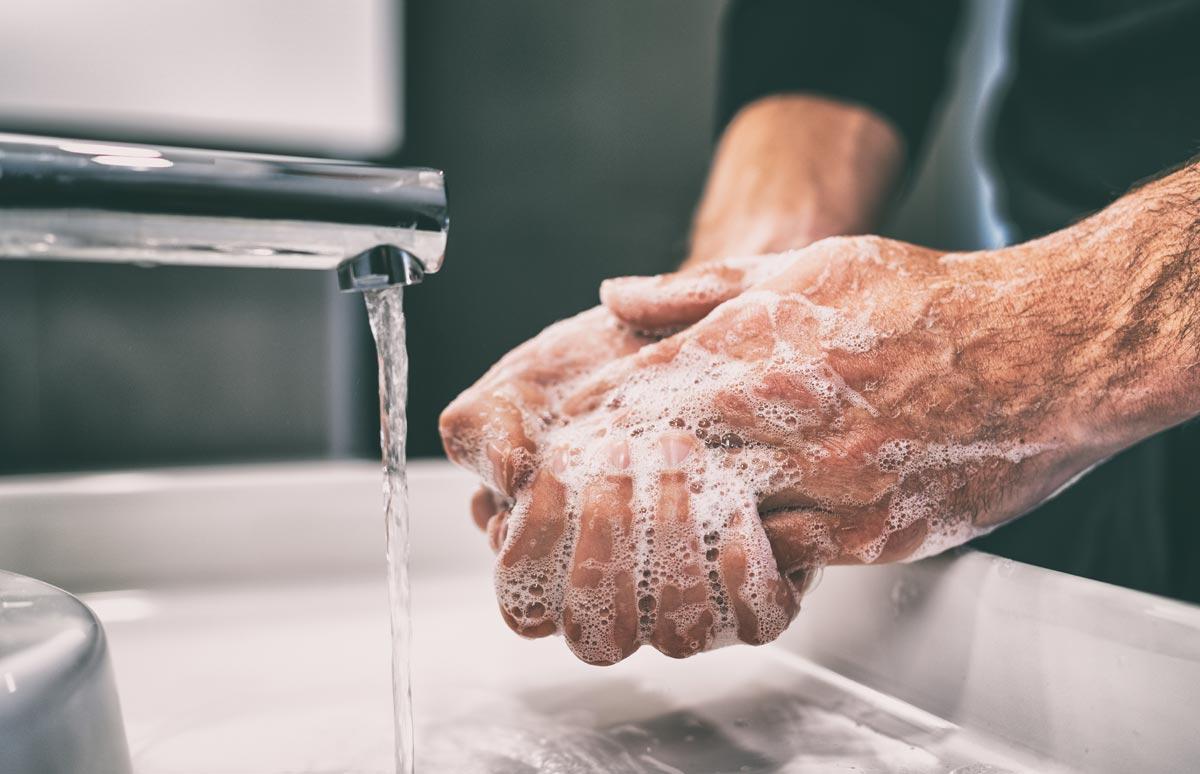 Varför ska du tvätta händerna