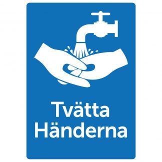 Dekal Tvätta Händerna - art: DEKA4001